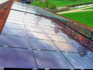 Solaranlage reinigen in Bamberg